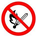 花見は火気厳禁の場所が多い
