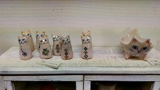 彩陶庵ロフトの止原理美の作品