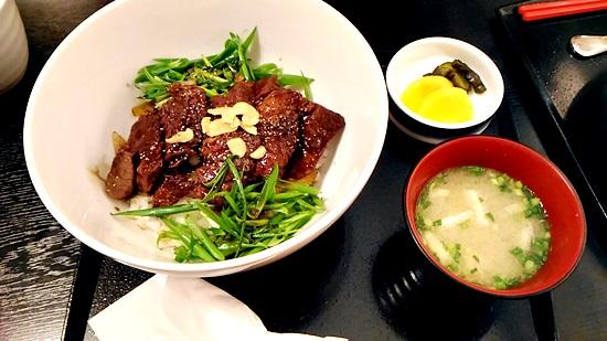 見蘭牛ダイニング玄の見蘭牛のステーキ丼