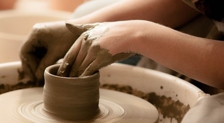 萩焼陶芸体験
