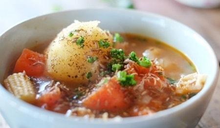 野菜スープは夏バテ対策