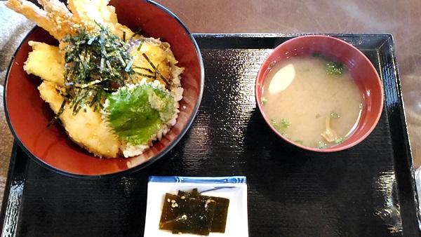 海鮮丼天丼