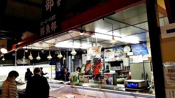 萩市しーまーとの魚介類のおみやげ萩市しーまーとのおみやげ魚介類