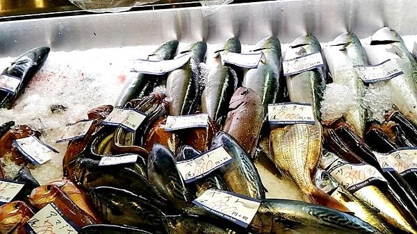 萩市しーまーとの魚介類のおみやげ萩市しーまーとの魚をおみやげ