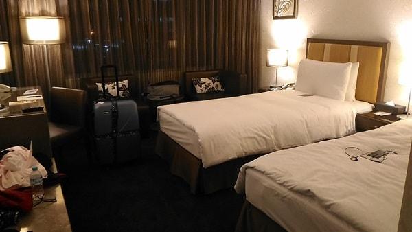 台北ガーデンホテルのベッドルーム