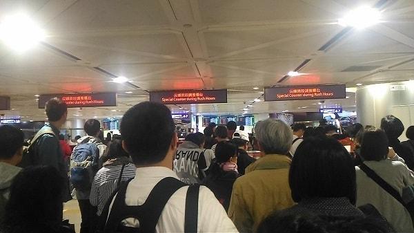 台北入国審査