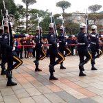 台北忠烈祠の整然とした見事な行進