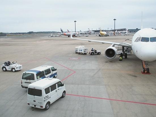 LCC成田広島便欠航
