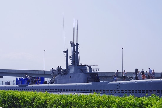 潜水艦ボーフィン号博物館