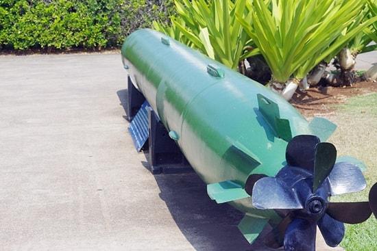 潜水艦の魚雷