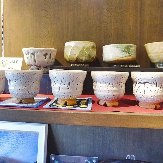 キモノスタイルカフェのコラボ陶器