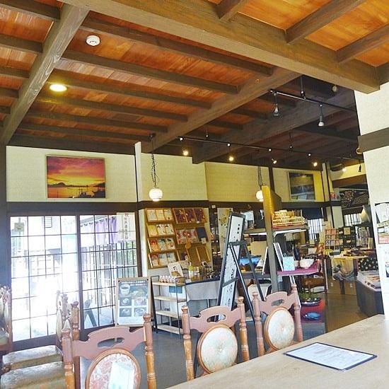 キモノスタイルカフェの天井