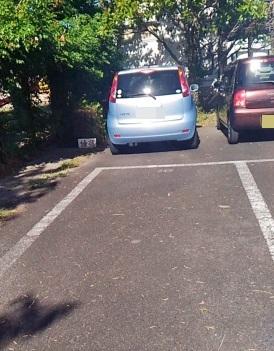 俥宿 天十平 駐車場