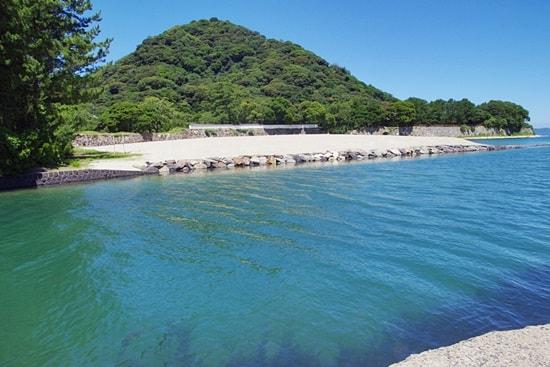 菊ヶ浜の運河