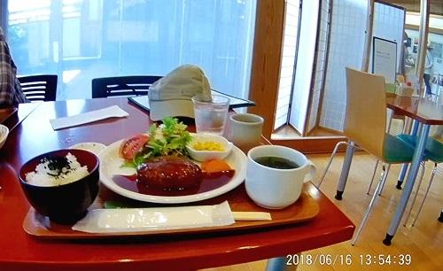 萩博物館のレストランメニュー