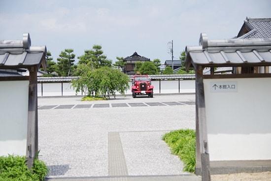 萩博物館の東門