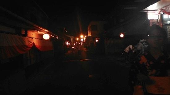 住吉神社例祭から浜崎の東リに入る