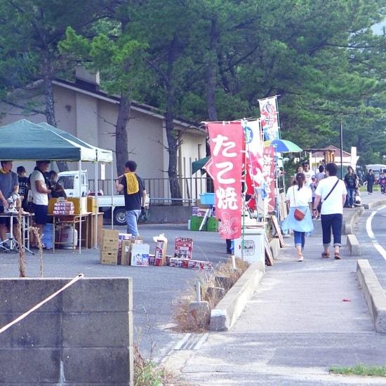 萩・日本海大花火大会の屋台やお店